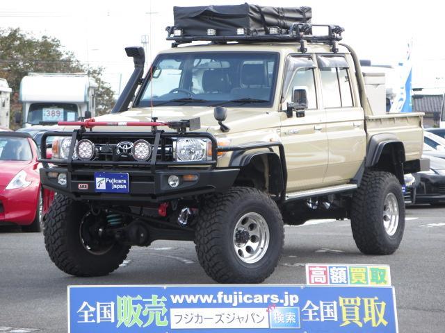 トヨタ ピックアップ リフトアップ 社外16AW シュノーケル
