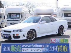 スカイライン25GTターボ タナベ車高調 ワーク18AW 柿本改マフラー