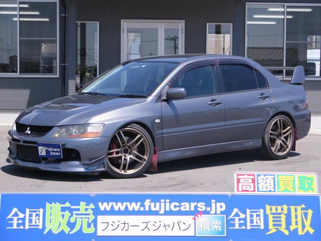 三菱 GSRエボリューションIX MR 柿本マフラー HKS車高調