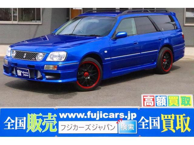 日産 25t RS FOUR V MT載替公認済 ベイサイドブルー全塗装 BLITZインタークーラー エアロ HKSエアクリ 社外マフラー 社外18インチAW タワーバー リアスポイラー キーレス ETC