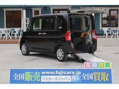 タント福祉車両 スロープ 車椅子1台 電動ウィンチ 車いす固定装置