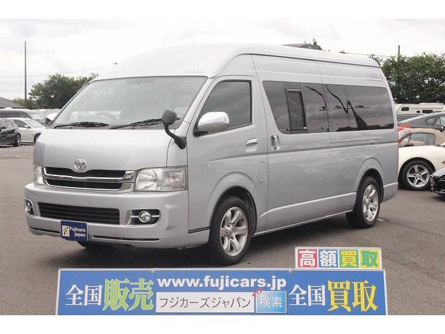 トヨタ アムクラフト コンパスドルク FFヒーター 出窓モデル ナビ