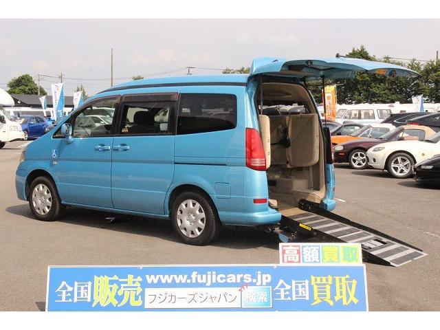 日産 福祉車両 チェアキャブ スロープ 車椅子1基 電動ウインチ