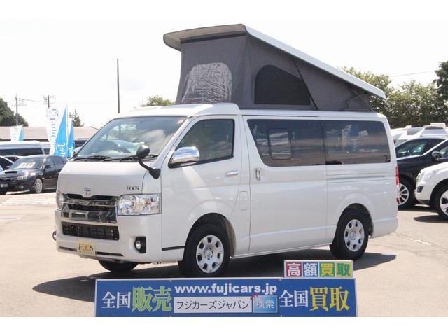 トヨタ FOCS エスパシオ ポップアップルーフ フリップダウン