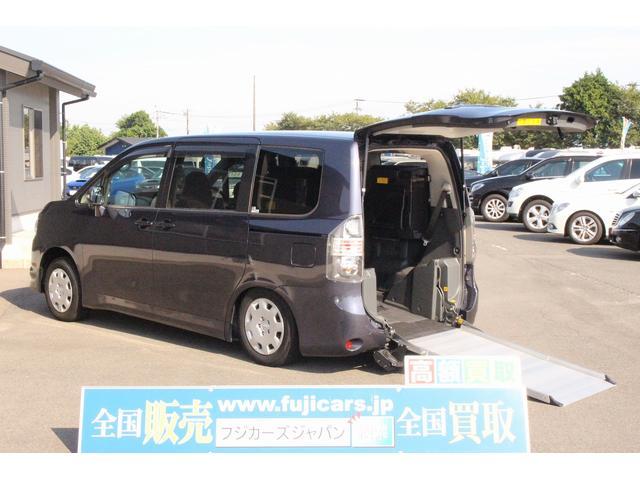 トヨタ 福祉車両 ウェルキャブ スロープ 車椅子1基 電動ウインチ