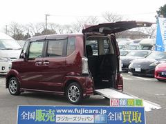 N BOX+カスタム福祉車両 スロープ 車椅子1基 電動リフト HID ETC