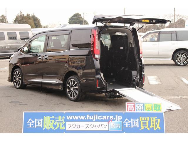 福祉車両 スロープ 車椅子1基 ニールダウン 電動固定 ナビ(1枚目)
