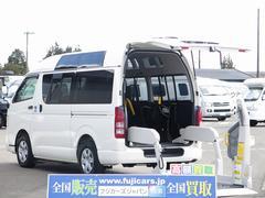 レジアスエースバン福祉車両 Bタイプ リフト 10人乗り 車椅子2基 天窓