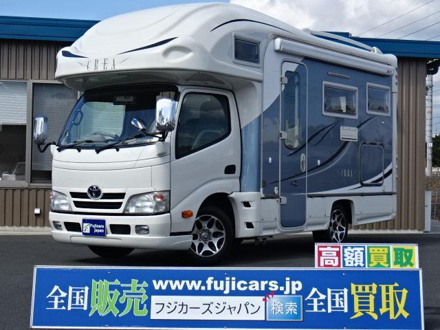 トヨタ ナッツRV クレア5.3X 常設ベッド FFヒーター テレビ