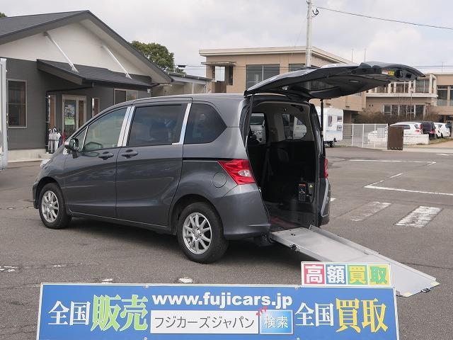 ホンダ スロープ 電動ウィンチ 車イス固定装置 キーレス Bカメラ