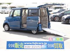 N BOX+福祉車輛 スロープ 電動ウィンチ 車いす固定装置