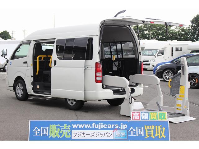 トヨタ 福祉車両 Aタイプ リアリフト タイヤ新品
