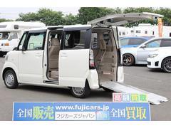 N BOX+福祉車輌 スロープ 電動ウィンチ スマートキー
