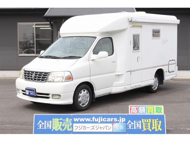 トヨタ ビークル ティアラ 二段ベッド FFヒーター ソーラー ナビ