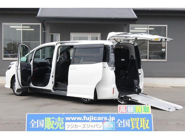 トヨタ ZS スロープ 後退防止ベルト 電動車いす固定 両側P
