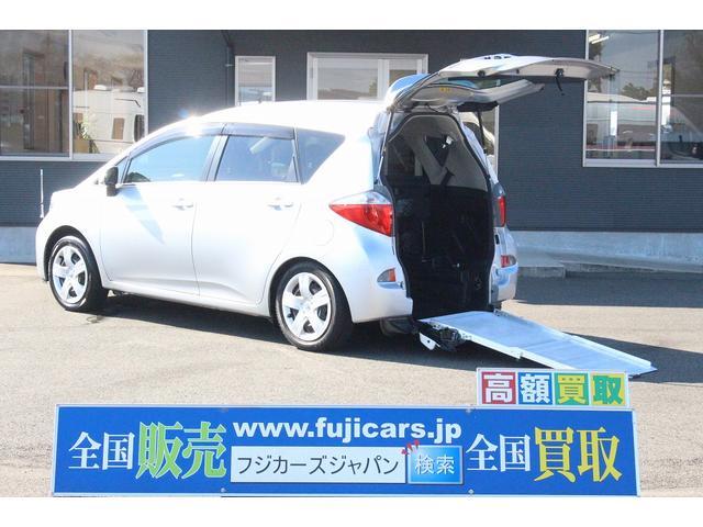トヨタ 1.5G ウェルキャブ スロープ 5人乗り ナビ Bカメラ