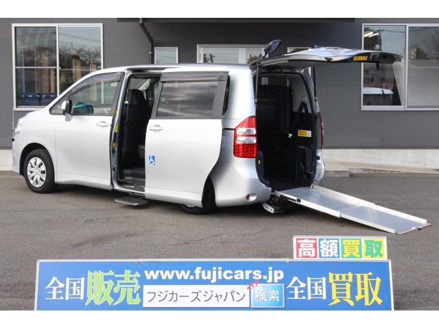 トヨタ X Lセレ ウェルキャブ スロープ タイプ2  両側パワスラ