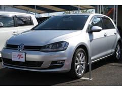 VW ゴルフTSI 本革パワーシート ナビ バックモニター TV ETC