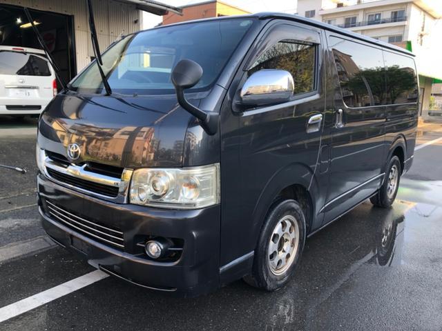 トヨタ ロングスーパーGL Tベルト交換 ナビ TV  バックカメラ