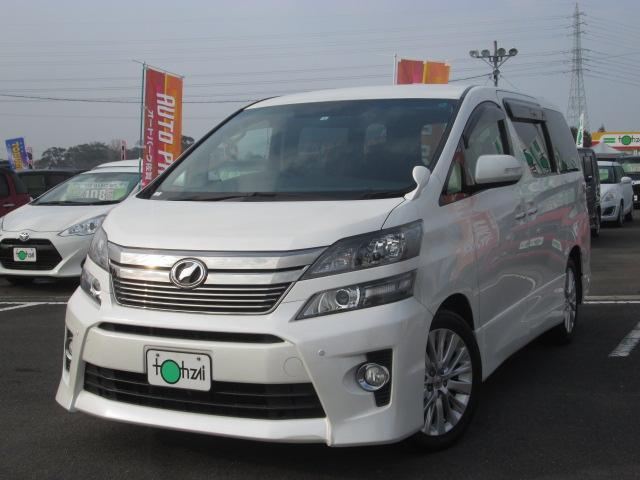 トヨタ 2.4Z 9型SDナビTV後席天井モニター 両側電動 7人乗