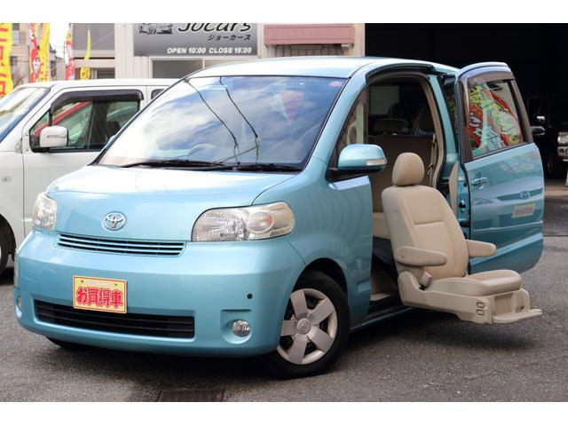 トヨタ 150r 福祉車両 助手席リフトアップシート ETC