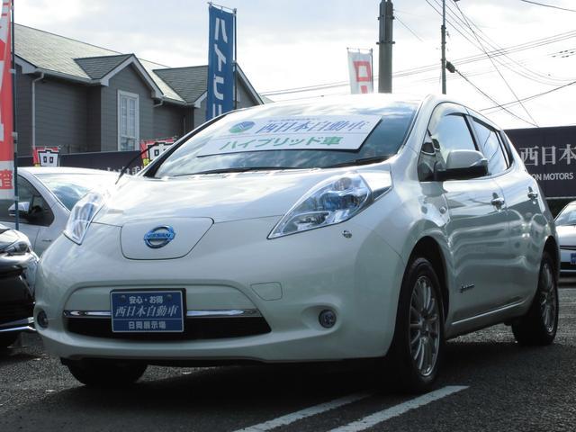 日産 G EV専用ナビ エコカー専用社外16インチアルミホイール