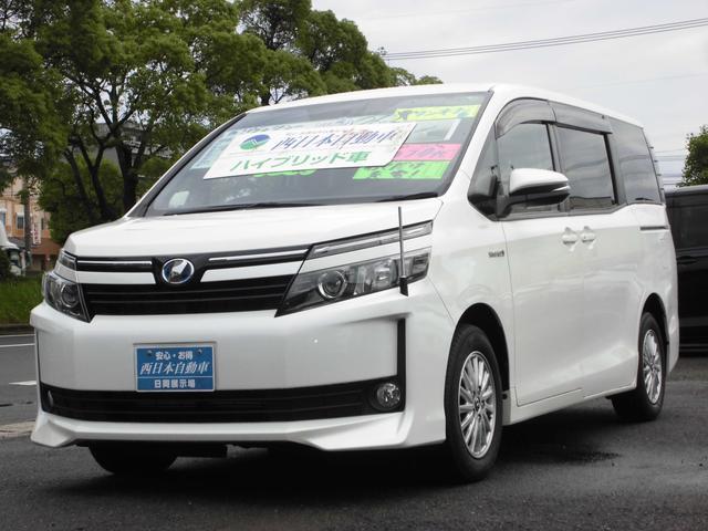 トヨタ ハイブリッドV オプション両側電動スライドドア おくだけ充電