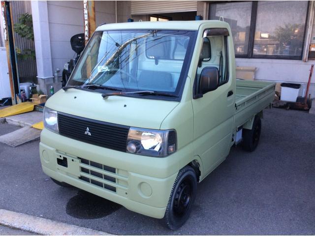三菱 ミニキャブトラック Vタイプ 4WD パワステ エアコン付き