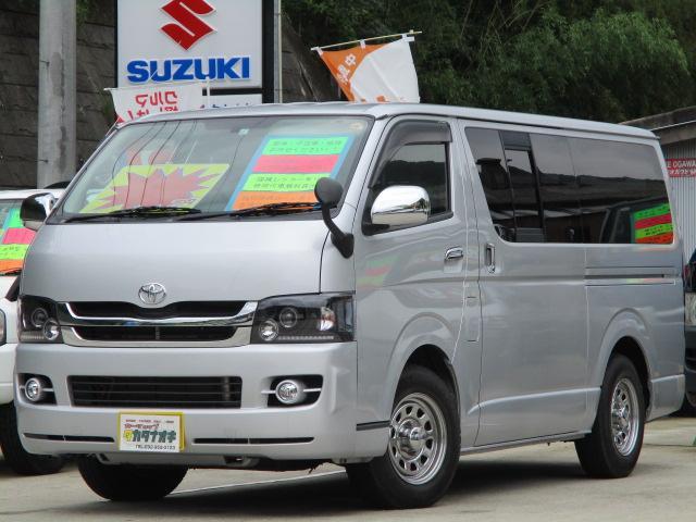 トヨタ ロングスーパーGL 純正ナビ 社外新品アルミ Tベルト交換済