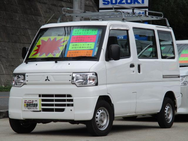 三菱 ミニキャブバン CD 純正オーディオ 5速MT車 4人乗り ETC