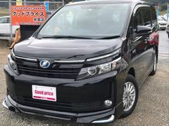 ヴォクシーハイブリッドV ワンオーナーユーザー買取車 フリップダウン