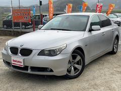 BMW525i ユーザー買取車 純正ナビ プッシュスタート