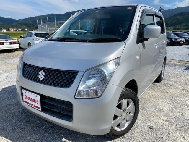 スズキ FX 社外SDナビ・フルセグTV・バックモニター・Bluetoothオーディオ・ETC・オートライト・ユーザー買取車