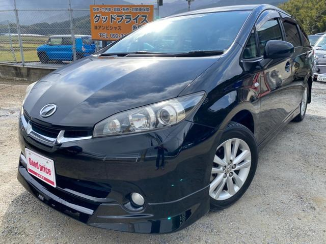 トヨタ 1.8S 1.8S(7名)モデリスタエアロ ディスチャージヘッドライト オートエアコン 純正アルミ ユーザー買取り車