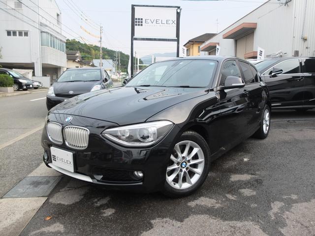 BMW 116i スタイル 赤本革/ワンオーナー車/車検R3年7月