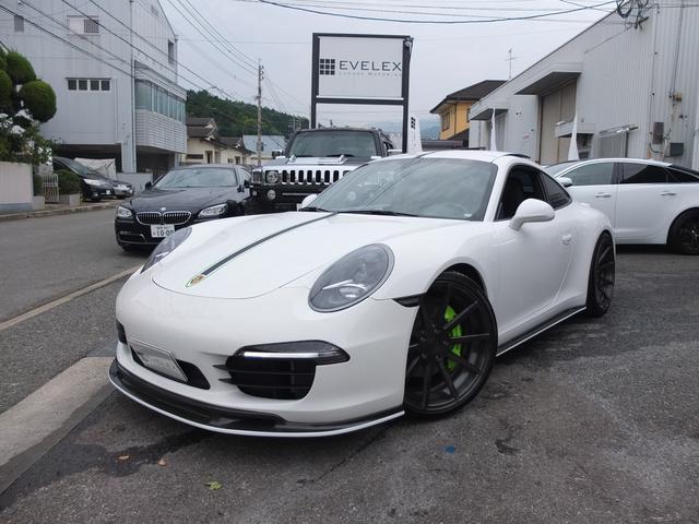 ポルシェ 911 911カレラS スポーツクロノPKG エクステリアスライドルーフ 左ハンドル フロントバンパープロテクションフィルム