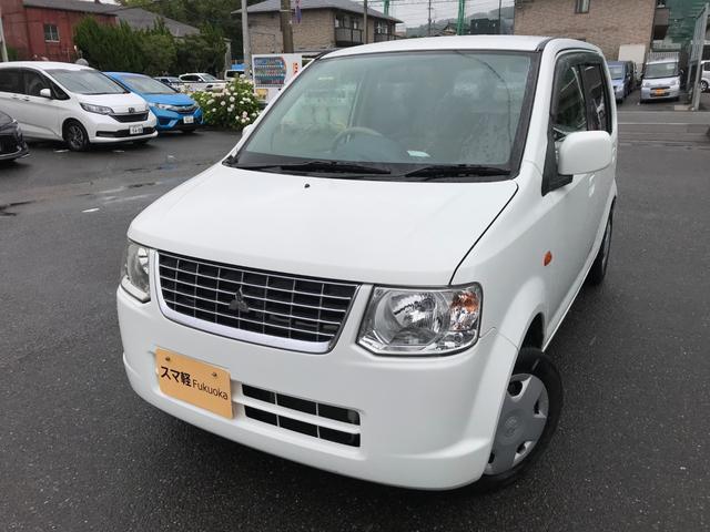 三菱 eKワゴン M 3年無料保証付き 禁煙車 キーレス CD再生 エアバッグ エアコン パワステ