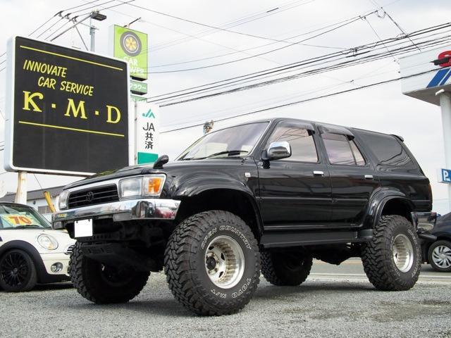 トヨタ ハイラックスサーフ SSR-Xリミテッド ワイド 4WD リフトアップ ディーゼルターボ 1ナンバー登録