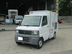 ミニキャブトラック移動式簡易トイレ ディーゼル発電機付 極東製 パワステ