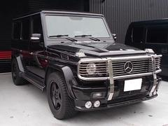 AMGG55ロング 4WD 黒本革電動シート AMGアルミ