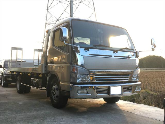 三菱ふそう 2.7t積載車 ユニックNEO5 HDDナビ