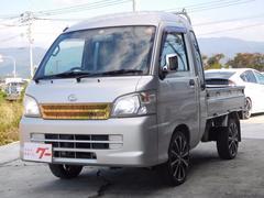 ハイゼットトラックジャンボ 4WD オートマ HDDナビ 社外ステア