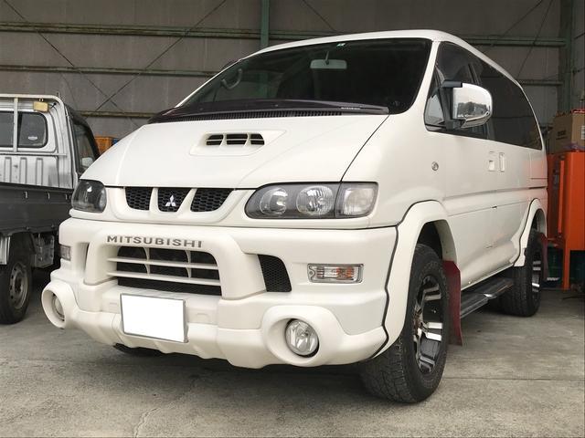 三菱 シャモニー スライドドア ナビ バックカメラ 4WD AW