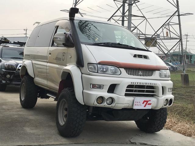 三菱 シャモニー 4WD TV ナビ AW ミニバン 8人乗り