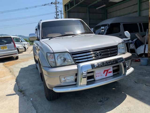 トヨタ ランドクルーザープラド TZ 最終モデル 1KDディーゼルターボ4WD