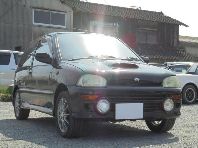 スバル RX-R 4WD 5速マニュアル 社外アルミ 13AW