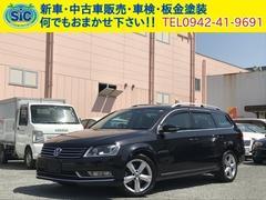 VW パサートヴァリアントTSIハイライン 黒革 Bluetooth接続 バックカメラ