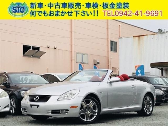 レクサス SC430 赤革シート シートヒーター ETC 純正AW