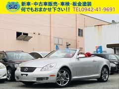 SCSC430 赤革シート シートヒーター ETC 純正AW
