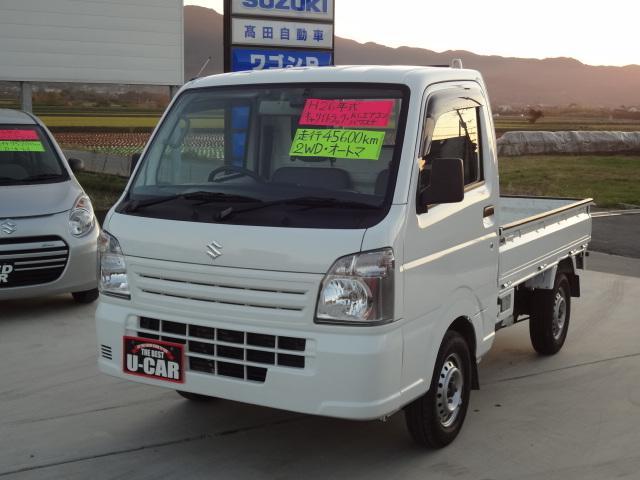 スズキ KCエアコン・パワステ 2WD オートマ車